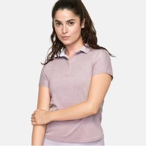 NWT Outdoor Voices Players Short Sleeve Polo Shirt